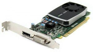 HP nVidia Quadro 600 1GB