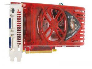 MSI GeForce 9600 GSO 348MB